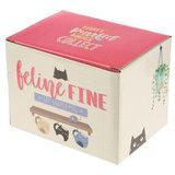 Mug Chat Feline Fine Cat _